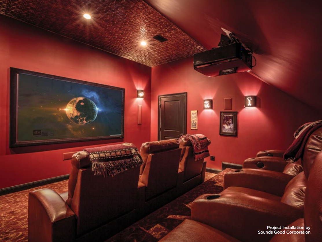 Modern Man Caves: home automation, man cave, smart home,